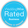 Wedding Wire Rated - Violets in Bloom - Roses are Red - Wedding Flowers